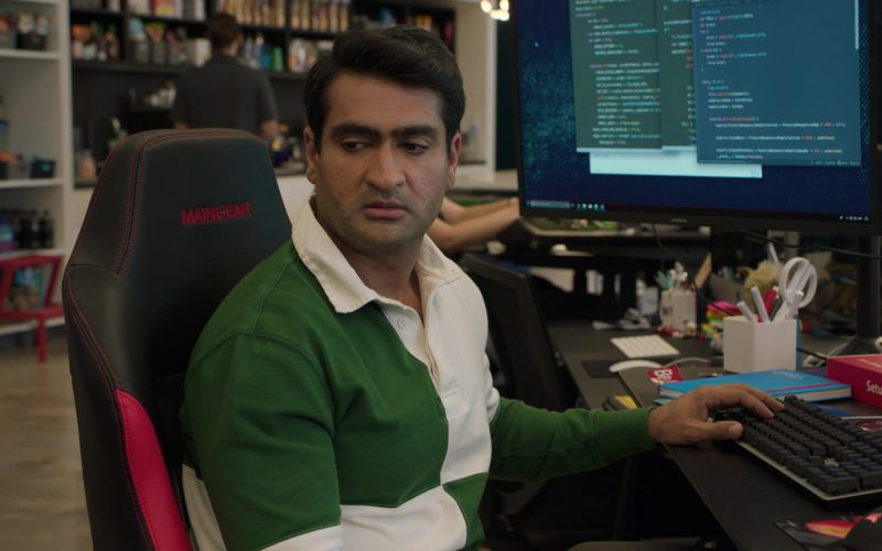 Maingear Chair Used by Kumail Nanjiani as Dinesh Chugtai in Silicon Valley Season 6 Episode 1 (1)