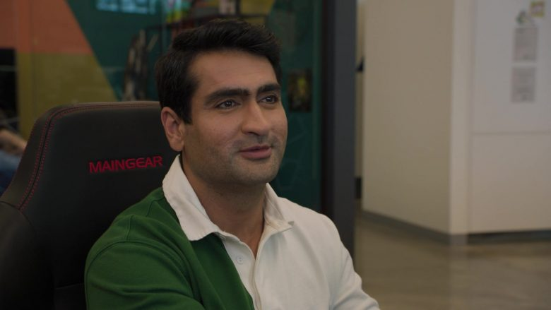 Maingear Chair Used by Kumail Nanjiani as Dinesh Chugtai in Silicon Valley Season 6 Episode 1 (3)