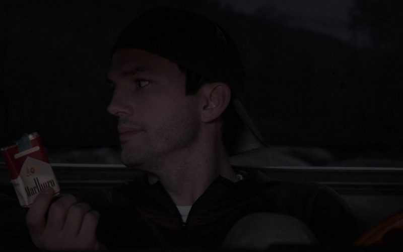 Marlboro Cigarettes Held by Ashton Kutcher as Colt Reagan Bennett in The Ranch Season 4 Episode 10