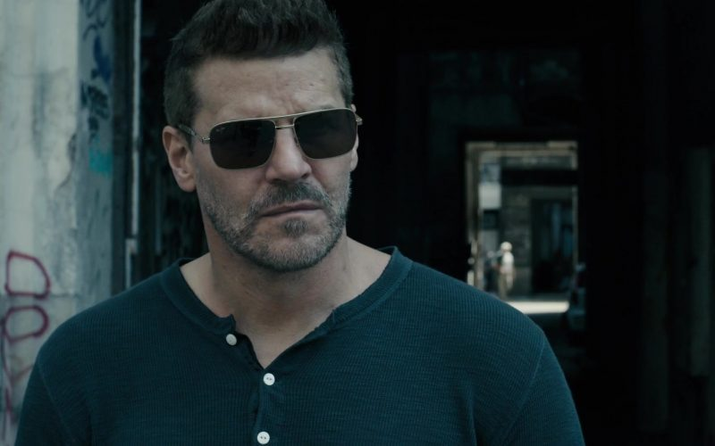 Maui Jim Sunglasses Worn by David Boreanaz as Jason Hayes in SEAL Team