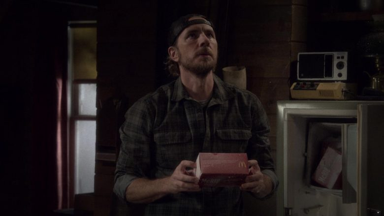 McDonald's McRib Held by Dax Shepard as Luke Matthews in The Ranch Season 4 Episode 3