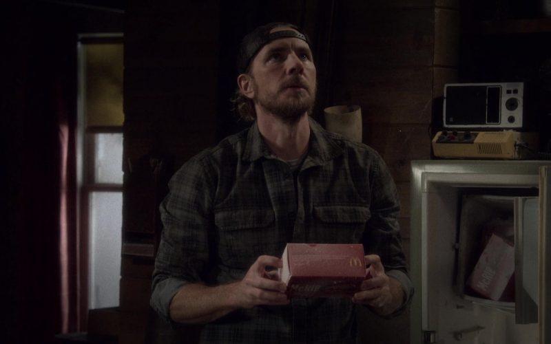McDonald's McRib Held by Dax Shepard as Luke Matthews in The Ranch Season 4 Episode 3