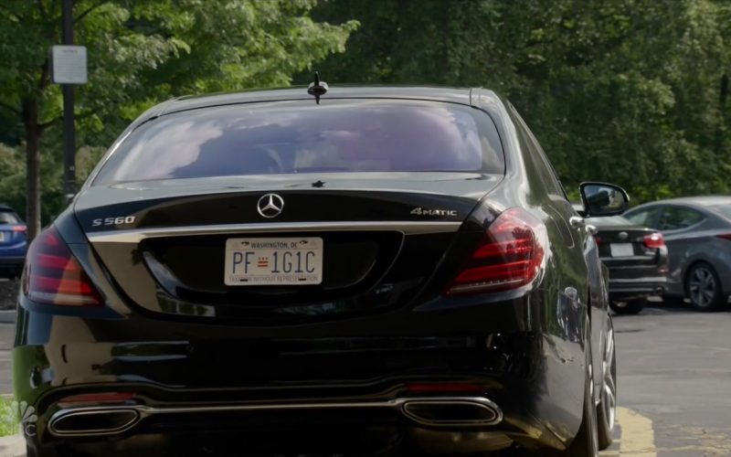 Mercedes-Benz S560 Car in The Blacklist Season 7 Episode 3 (2)
