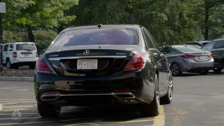 """Mercedes-Benz S560 Car in The Blacklist Season 7 Episode 3 """"Les Fleurs du Mal"""" (2019) - TV Show Product Placement"""