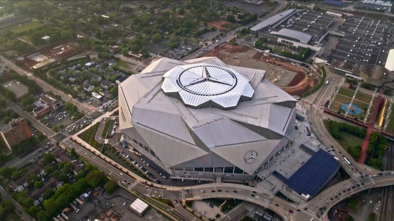 Mercedes-Benz Stadium in Ballers Season 5 Episode 8 Players Only (1)