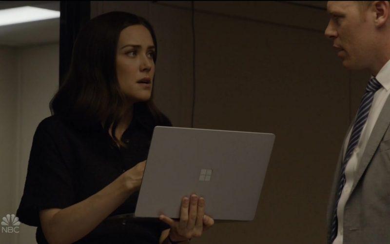 Microsoft Surface Laptop Used by Megan Boone as Elizabeth 'Liz' Keen in The Blacklist (4)