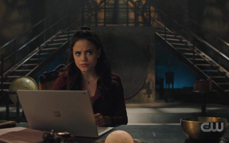 Microsoft Surface Laptop Used by Sarah Jeffery as Margarita Emilia 'Maggie' Vera in Charmed Season 2 Episode 2 (3)