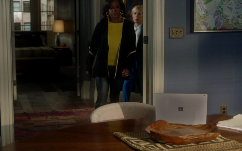 Microsoft Surface Laptop Used by Viola Davis as Annalise Keating in How to Get Away with Murder (1)