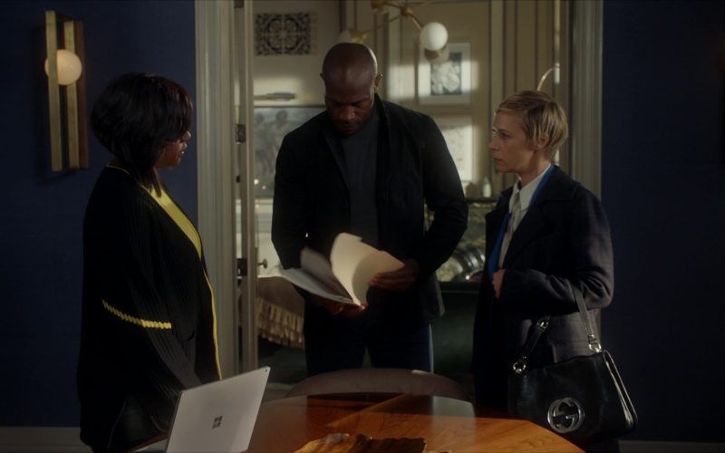 Microsoft Surface Notebook and Gucci Handbag Used by Liza Weil as Bonnie Winterbottom in How to Get Away