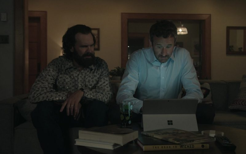 Microsoft Surface Tablet Used by Chris O'Dowd as Miles Daly in Get Shorty Season 3 Episode 3 (1)