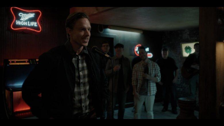 Miller High Life Neon Signs in Castle Rock Season 2 Episode 4 (2)