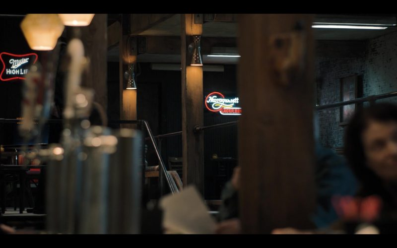 Miller High Life and Narragansett Beer Neon Signs in Castle Rock Season 2 Episode 2