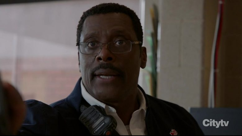 Motorola Radio Used by Eamonn Walker as Battalion Chief Wallace Boden in Chicago Fire
