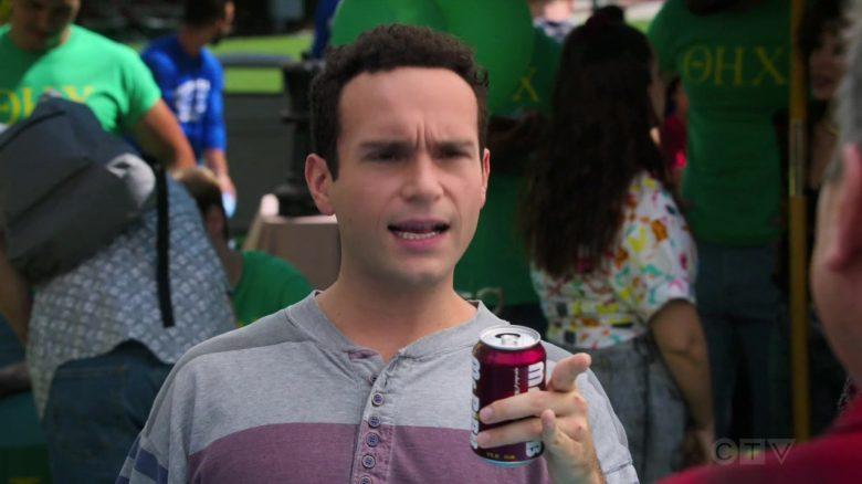 Mr. Pibb Soda Enjoyed by Troy Gentile as Barry Norman Goldberg in The Goldbergs Season 7 Episode 4 (2)