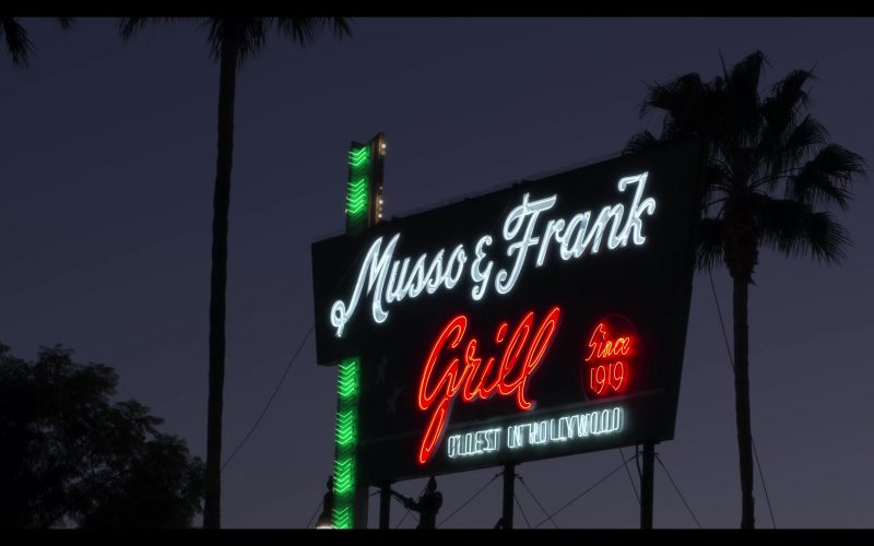 Musso & Frank Grill Restaurant in The Kominsky Method Season 2 Episode 6 Chapter 14