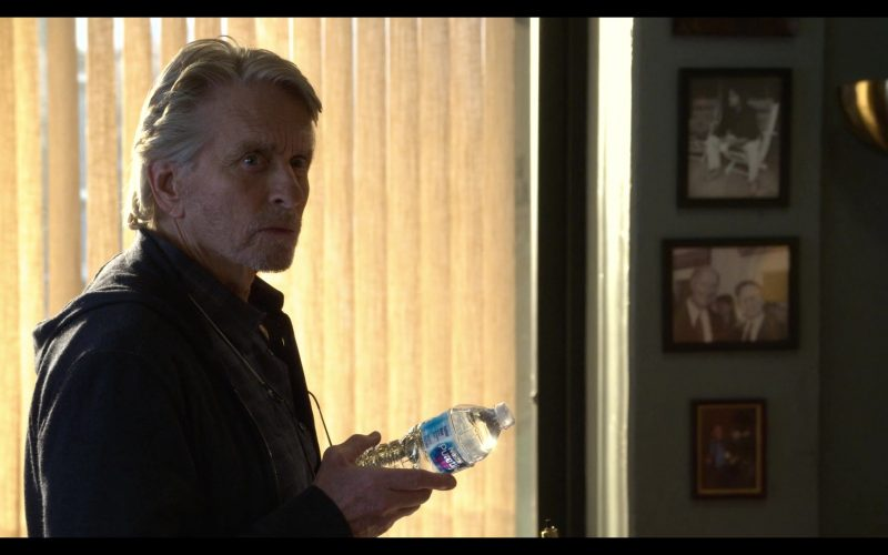 Nestlé Pure Life Bottled Water Held by Michael Douglas in The Kominsky Method Season 2 Episode 3 Chapter 11