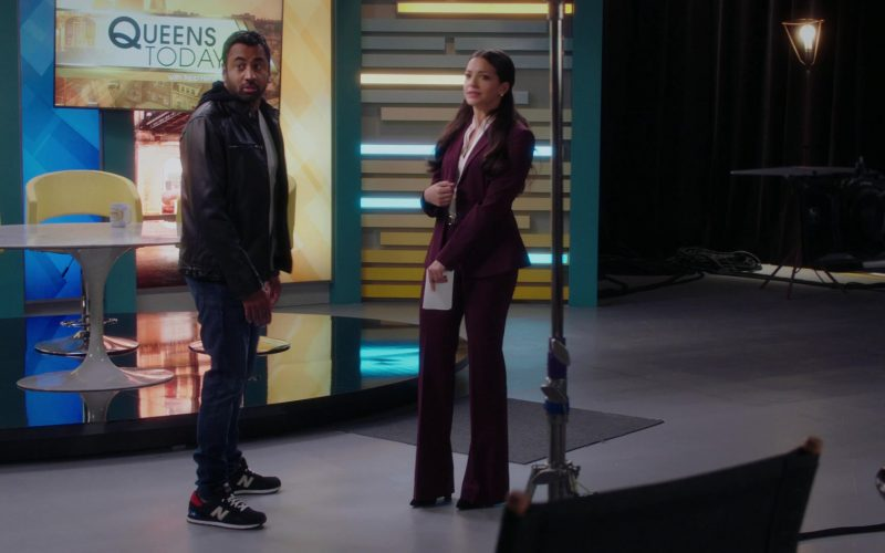 New Balance Sneakers Worn by Kal Penn in Sunnyside Season 1 Episode 5 Schnorf Towns (1)