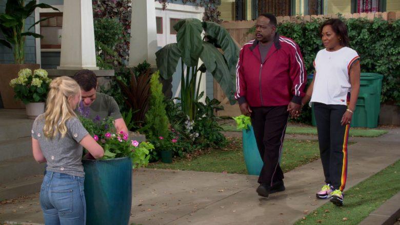 New Balance T-Shirt Worn by Tichina Arnold as Tina Butler in The Neighborhood (1)