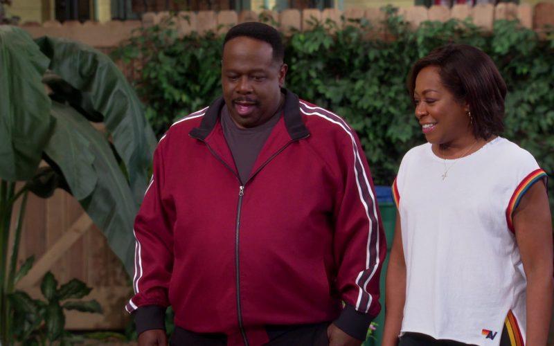 New Balance T-Shirt Worn by Tichina Arnold as Tina Butler in The Neighborhood (2)