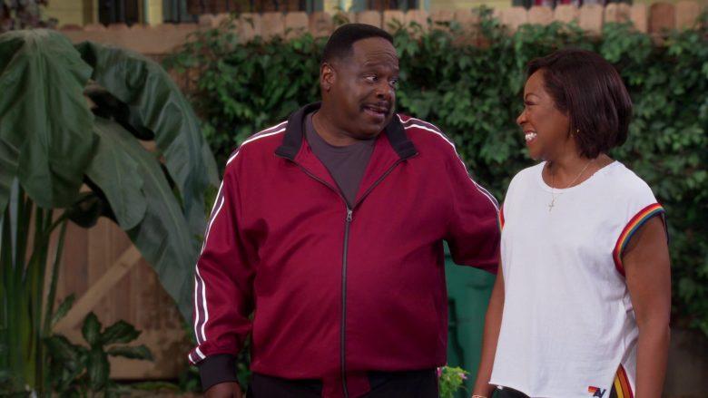 New Balance T-Shirt Worn by Tichina Arnold as Tina Butler in The Neighborhood (3)