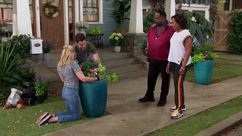 New Balance T-Shirt Worn by Tichina Arnold as Tina Butler in The Neighborhood (4)