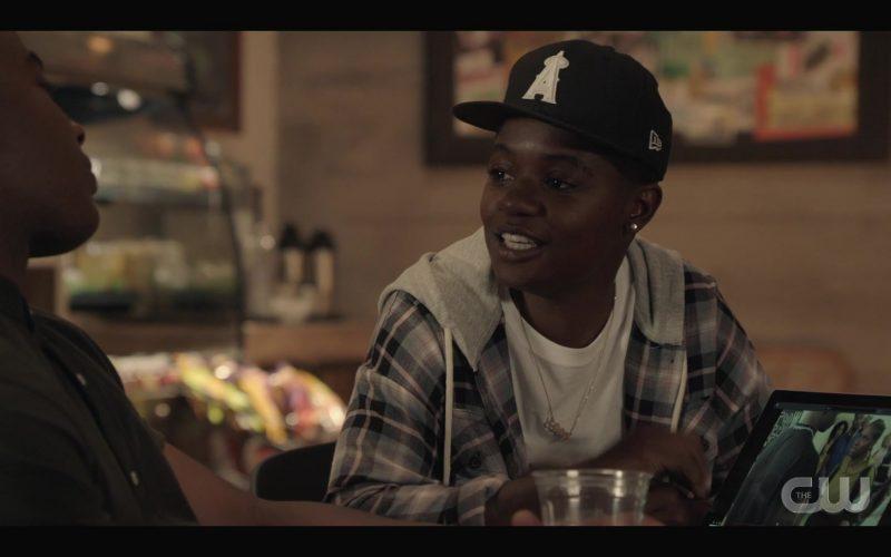 New Era Cap Worn by Bre-Z as Tamia 'Coop' Cooper in All American Season 2 Episode 3