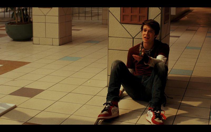 Nike Air Jordan 1 x Off White Shoes Worn by Colin Ford as Josh Wheeler in Daybreak Season 1 Episode 4