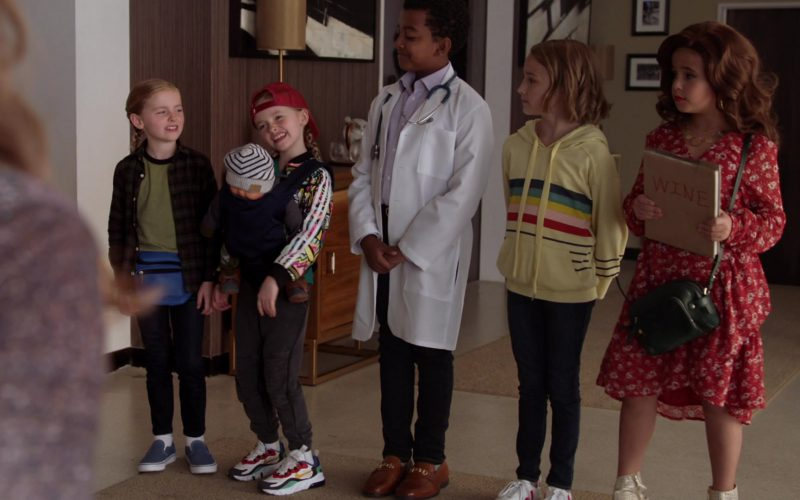 Nike Girls Sneakers in Single Parents Season 2 Episode 6 Welcome to Hell, Sickos! (2019)