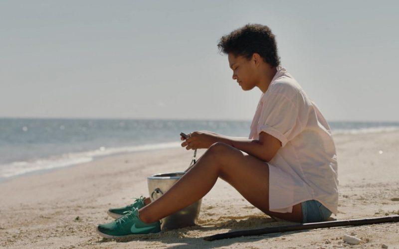 Nike Green Shoes Worn by Kiersey Clemons as Jenn in Sweetheart (6)