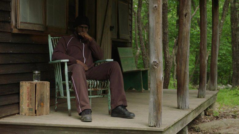 "Nike Men's Black Leather Shoes in The Deuce Season 3 Episode 7 ""That's a Wrap"""