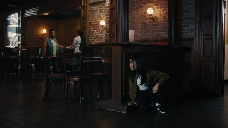Nike Shoes Worn by Brianne Tju as Alex Portnoy in Light as a Feather - Season 2 Episode 13 …Thick as Thieves (2019) - TV Show Product Placement