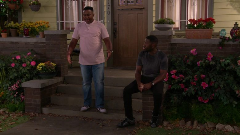 "Nike Sneakers Worn by Marcel Spears as Marty in The Neighborhood Season 2 Episode 5 ""Welcome to Soul Food"" (2019) TV Show"