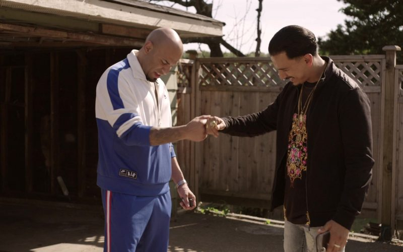 Nike Tracksuit in Get Shorty Season 3 Episode 3 Strong Move (1)