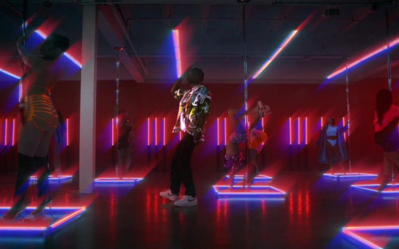 Nike White Shoes Worn by Travis Scott in Highest in the Room (2)