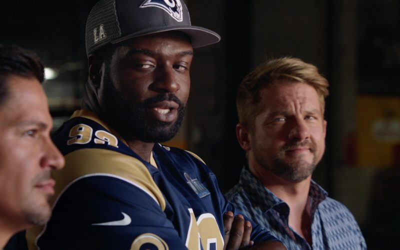Nike x Los Angeles Rams Jersey Worn by Stephen Hill as Theodore 'TC' Calvin in Magnum P.I (1)
