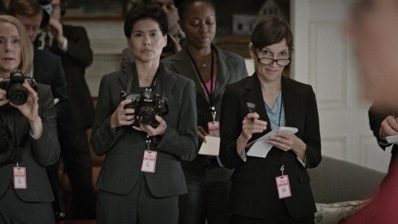 "Nikon Camera in Madam Secretary Season 6 Episode 2 ""The Strike Zone"" (2019) - TV Show Product Placement"