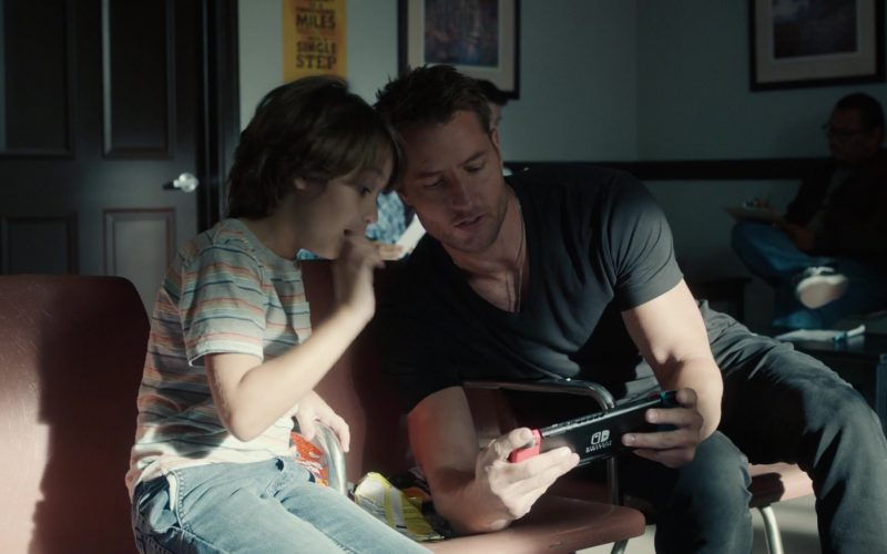 Nintendo Switch Video Game Console Used by Justin Hartley as Kevin Pearson in This Is Us