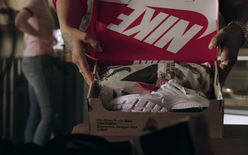 Off-White x Nike Sneakers in Get Shorty Season 3 Episode 3