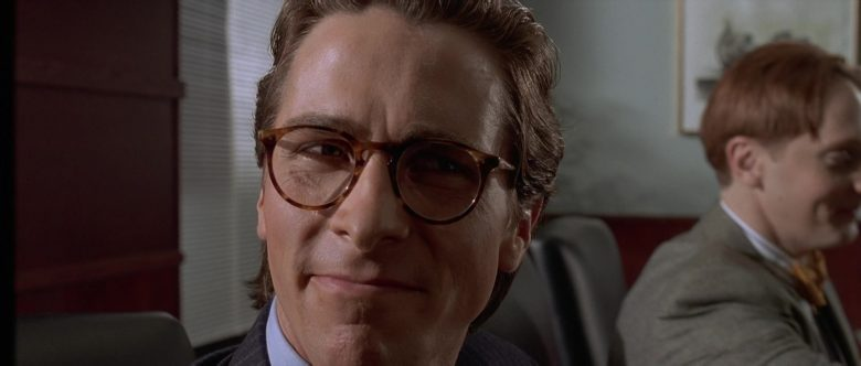 Oliver Peoples Glasses Worn by Christian Bale as Patrick Bateman in American Psycho (1)