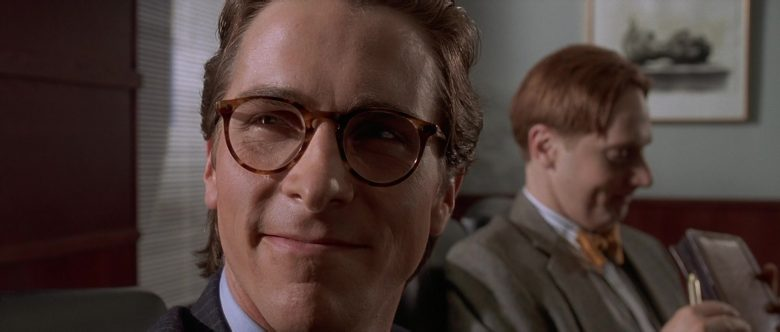 Oliver Peoples Glasses Worn by Christian Bale as Patrick Bateman in American Psycho (2)