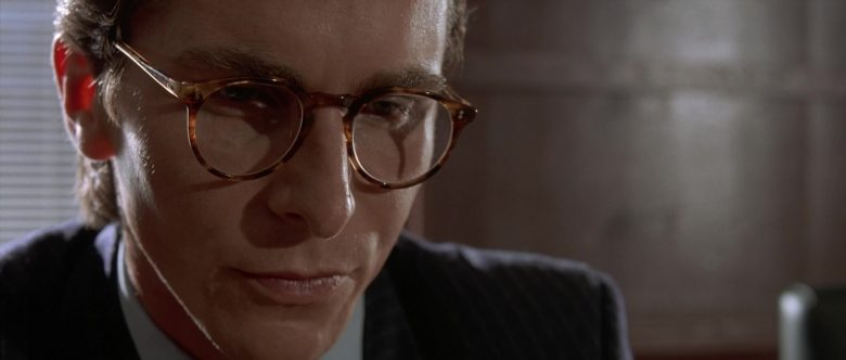 Oliver Peoples Glasses Worn by Christian Bale as Patrick Bateman in American Psycho (3)