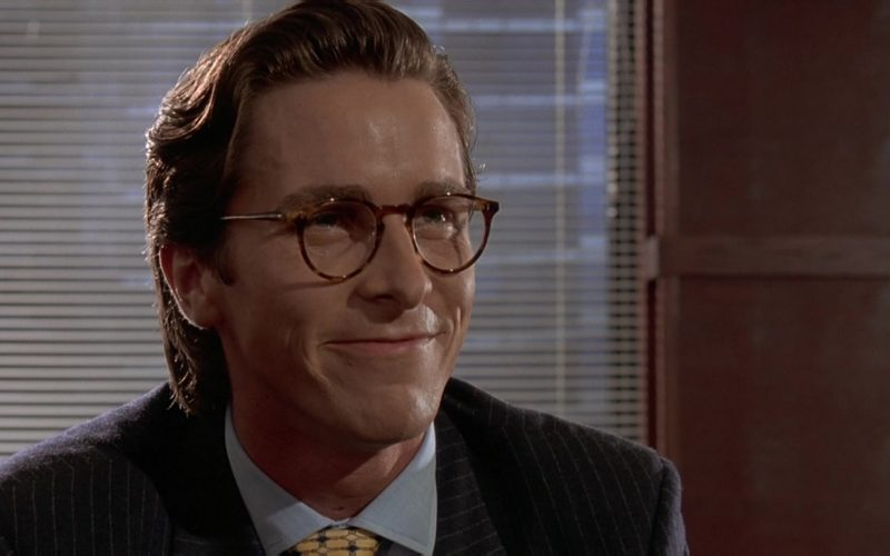 Oliver Peoples Glasses Worn by Christian Bale as Patrick Bateman in American Psycho (5)
