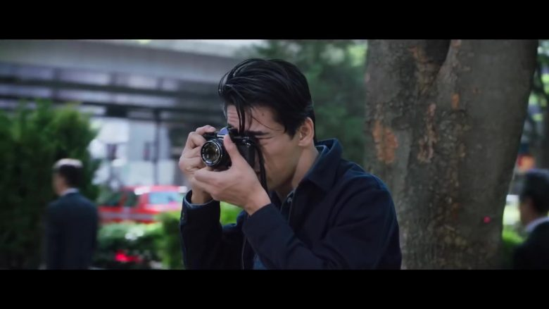 Olympus Camera Used by Naoki Kobayashi as Teiji in Earthquake Bird (2019) - Movie Product Placement