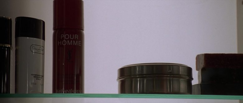 Oscar de La Renta Oscar Anti-Perspirant Deodorant Vitale and Yves Saint Laurent in American Psycho (2000) - Movie Product Placement