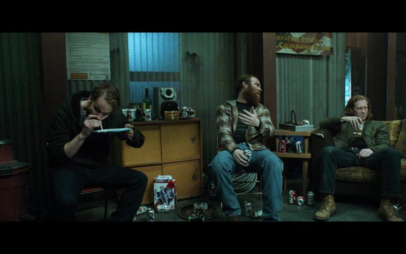 Pabst and Miller Lite Beer in El Camino A Breaking Bad Movie