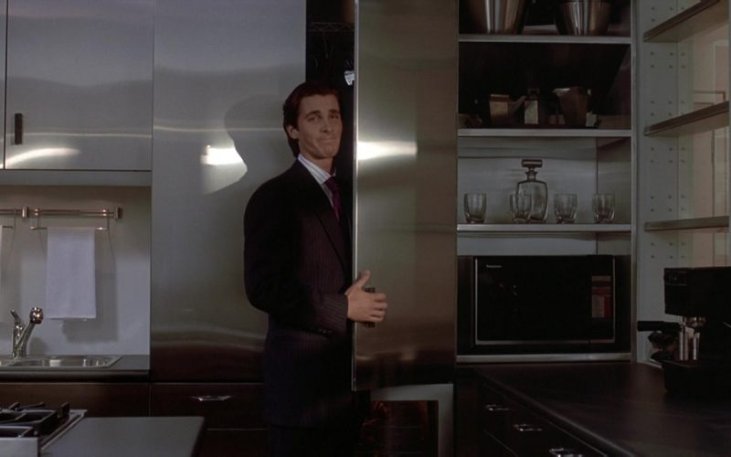 Panasonic Microwave Oven Used by Christian Bale as Patrick Bateman in American Psycho