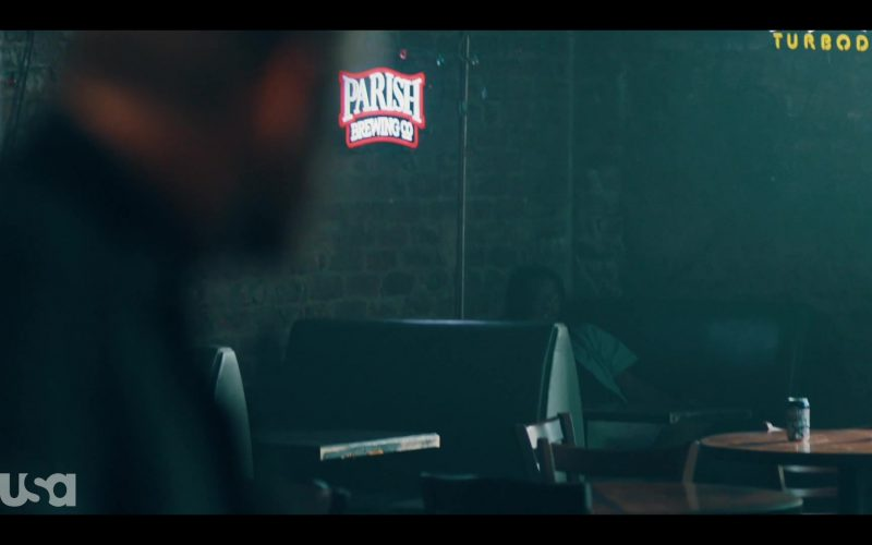 Parish Brewing and Turbodog Signs in The Purge Season 2 Episode 3 Blindspots