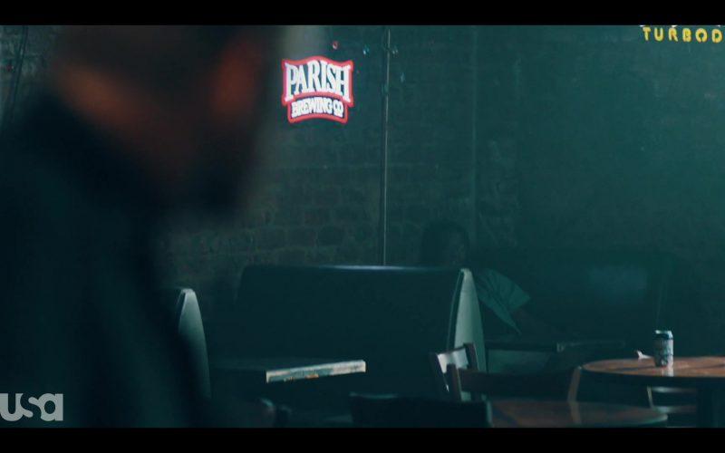 Parish Brewing and Turbodog Signs in The Purge Season 2 Episode 3 Blindspots