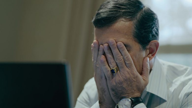 Patek Philippe Watch Worn by Antonio Banderas as Ramón Fonseca in The Laundromat
