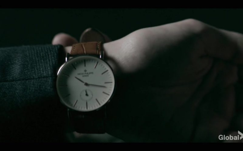 Patek Philippe Watch Worn by Tom Payne as Malcolm Bright in Prodigal Son Season 1 Episode 4